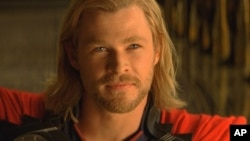 Thor (Chris Hemsworth) in THOR, from Paramount Pictures and Marvel Entertainment.