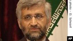 Iranian nuclear negotiator Saeed Jalili