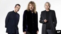 Dari kiri, John Paul Jones, Robert Plant dan Jimmy Page dari Led Zeppelin. (Foto: Dok)