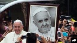 El pontífice ha apoyado el diálogo de paz de Colombia con las FARC.