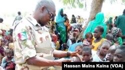 Wasu Daga Cikin Mutanen Da Sojoji Suka Kubutar Daga Hannun 'Yan Boko Haram