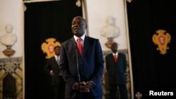 Presiden Guinea-Bissau Jose Mario Vaz di Istana Presiden di Lisbon (Foto: dok).