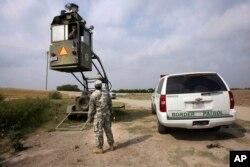 Національний гвардієць у штаті Техас, 19 квітня 2011 р.