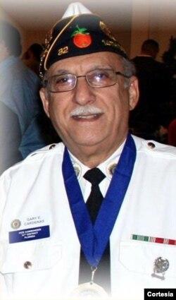 Gary Cárdenas, veterano del Ejército de EE.UU.