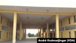 Ecoles et universités hermétiquement fermés, au Tchad, le 26 mars 2020. (VOA/André Kodmadjingar)