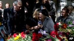 Похороны погибших 2 мая. 8 мая 2014 г.
