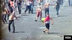 Protesta ne Shkup