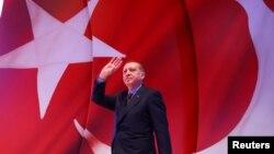 Recep Tayyip Erdogan- Serokomarê Tirkiyê