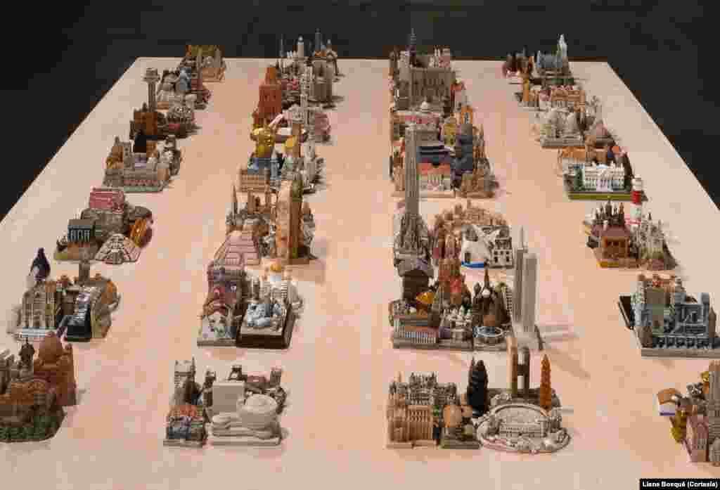 Obra apresentada por Liene na exposição Greater New York, no MoMa, é chamada Recollections