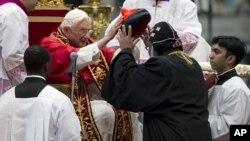 Вручение кардинальских шапок