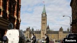 Kanada parlamentida otishma, Ottavadan suratlar