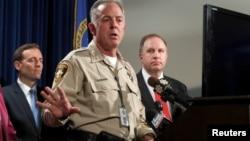 """El sheriff Joe Lombardo dijo que Paddock pasó décadas viviendo lo que describió como una """"vida secreta"""", de muy bajo perfil, en los que planeó muy bien sus actividades"""