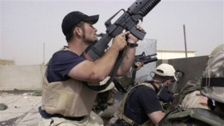 Zaposlenici firme Blackwater USA u Najafu, Irak