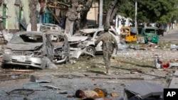 지난 2일 소말리아 반군단체 얄샤바브가 모가디슈의 호텔에 폭탄 테러 공격을 감행했다.