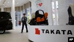 Kantor Takata Corp. di Tokyo, Jepang (foto: ilustrasi).