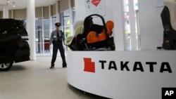 Kantor perusahaan Takata di Tokyo, Jepang (foto: ilustrasi).