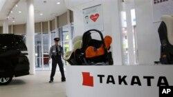 Takata, el fabricante japonés de bosas de aire enfrenta nuevos problemas.