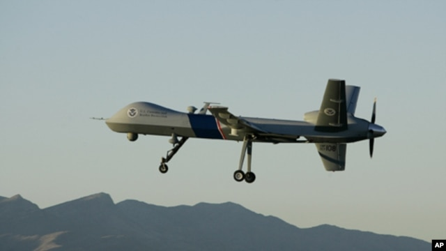 File photo of an unmanned aerial aircraft.