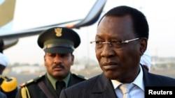 Idriss Deby, président du Tchad