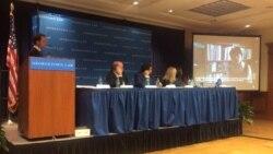 """INTERPOL is being abused by dictatorships"" - Georgetown Uni, Nov 9 2015 - PART 1"