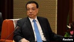 中國總理李克強在北京中南海(資料照片)