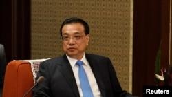 中国总理 李克强 在北京中南海 (资料照片)