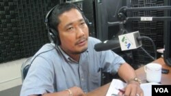 Ông Long Panhavuth, thanh sát viên hàng đầu của tổ chức Cambodia Justice Initiative