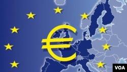 Moody's Investor Service menurunkan peringkat prospek Uni Eropa dari stabil menjadi negatif akibat krisis utang zona euro yang terus berlanjut (foto: dok).