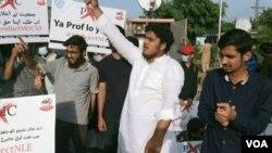 پاکستان میں ڈاکٹرز اور میڈیکل کے طلبہ گزشتہ کئی روز سے سراپا احتجاج ہیں۔