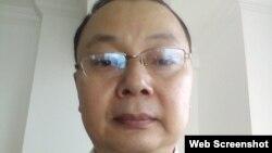 中國貴州大學楊紹政教授 (推特照片)