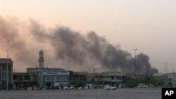 9月3日伊拉克巴格達薩德爾城一警察派出所受襲。(資料照片)