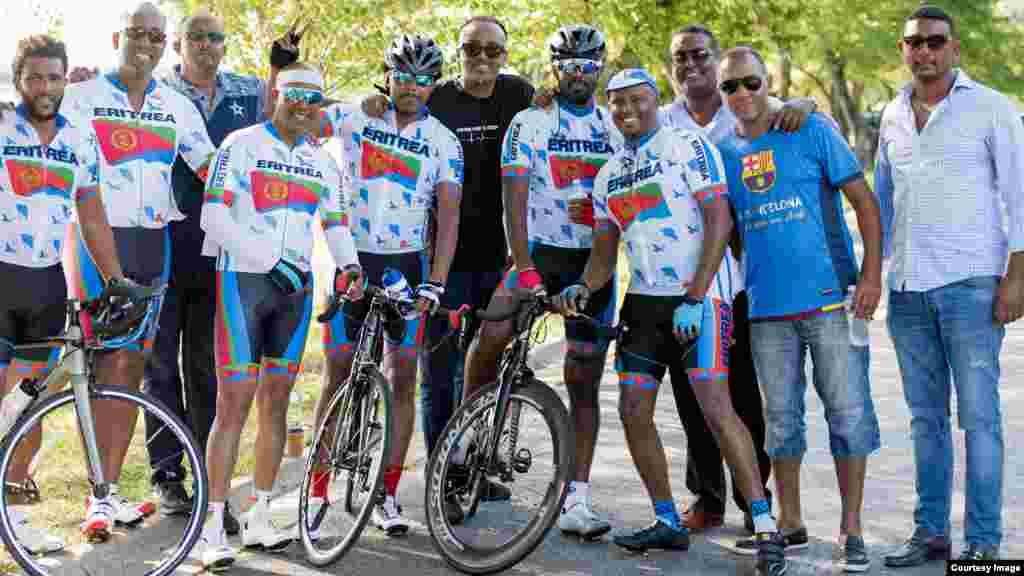 1st annual Eritrean Bike Race washington DC