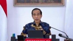 Presiden Jokowi dalam Ratas di Istana Kepresidenan , Jakarta, Senin (6/9) mengatakan pemerintah mewaspadai varian baru Corona, Varian Mu agar tidak masuk ke Indonesia (Foto: Biro Setpres)