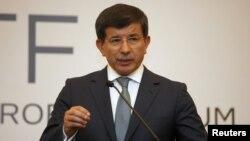 احمد داوود اوغلو وزیر امور خارجه ترکیه