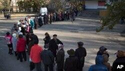 Донецк, 2 ноября 2014