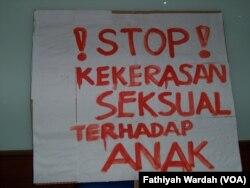KPAI Desak Pemerintah untuk menghentikan kekerasan seksual terhadap anak. (Foto: dok).