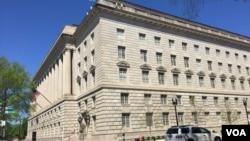 美國商務部總部大樓一側(資料照)