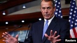 El presidente de la Cámara de Representantes, John Boehner, parece no haber encontrado eco entre su fracción sobre la reforma inmigratoria.