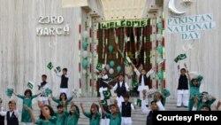 نئی دیلی کے پاکستان سفارت خانے میں 75 ویں یوم پاکستان کی تقریب۔