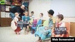 İŞİD-dən azad edilmiş ərazilərdən tapılan uşaqlar