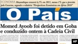 Momed Ayoob Detido na Cadeia Central de Maputo