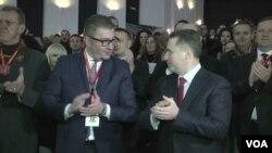 Hristian Mickovski dhe Nikolla Gruevski