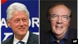 El expresidente Bill Clinton (izquierda) y el autor James Patterson están escribiendo una novela que saldrá a la venta en 2018.