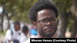 Mbanza Hamza, um dos activistas do processo dos 17, faz parte da associação angolana Handeka