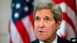 FILE - Secretary of State John Kerry.