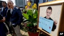 波士頓的一個兒童公園星期三破土動工,以其中一名8歲遇難者馬丁理查德命名。