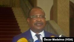 Delfim Neves, presidente do Parlamento de São Tomé e Príncipe