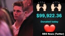 ویل کانلی «پسر تخممرغی» نزدیک به ۱۰۰ هزار دلار استرالیا که برای او جمع آوری شده بود، به قربانیان تیراندازی مسجد نیوزیلند بخشید.