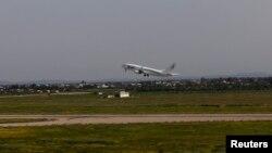 À l'aéroport de Tripoli, Libye, le 21 mars 2014.