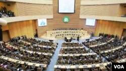 Suasana rapat kerja para pemimpin negara Uni Afrika (Foto: dok).